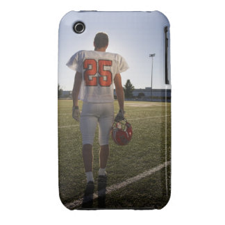 Teenage (16-17) American football player iPhone 3 Case