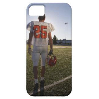 Teenage (16-17) American football player iPhone 5 Covers