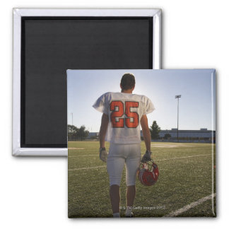 Teenage (16-17) American football player Magnet