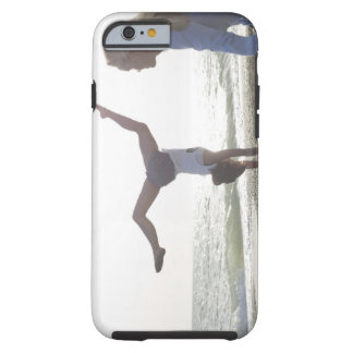 Teenage girl performs gymnastic feat, mom tough iPhone 6 case
