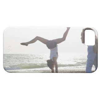 Teenage girl performs gymnastic feat, mom iPhone 5 covers