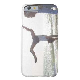 Teenage girl performs gymnastic feat, mum barely there iPhone 6 case