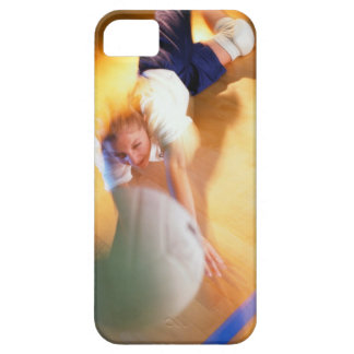 Teenage Girl Playing Volleyball Barely There iPhone 5 Case