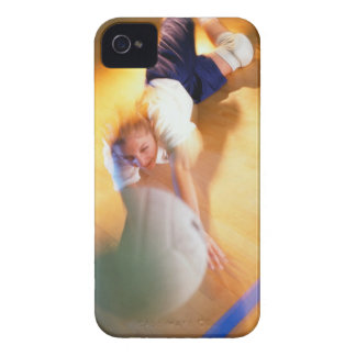 Teenage Girl Playing Volleyball Case-Mate iPhone 4 Case