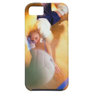 Teenage Girl Playing Volleyball iPhone 5 Cover
