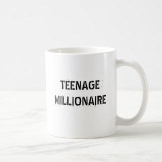 TEENAGE MILLIONAIRE BASIC WHITE MUG