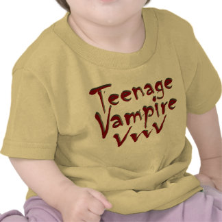 Teenage Vampire with Fangs Shirts