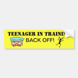 Teenager in Training Bumper Sticker Car Bumper Sticker