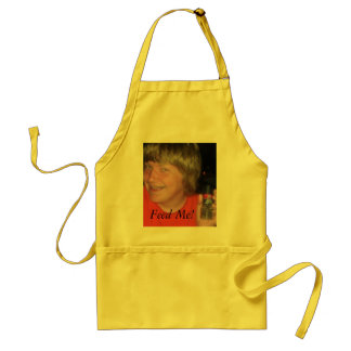 Teenager needs food standard apron
