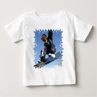 Teenager Snowboarding Baby T-Shirt