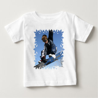 Teenager Snowboarding Baby T-Shirt