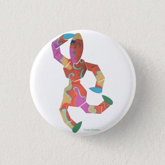 Teenie Brushes design 3 Cm Round Badge