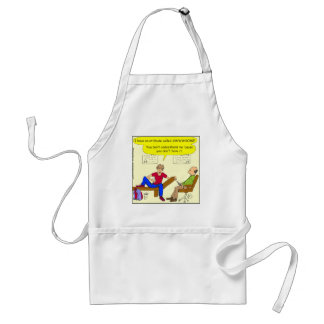 Teens are awesome cartoon aprons