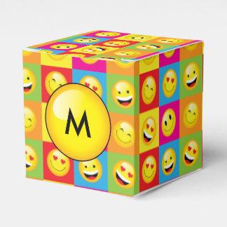 Teens Emoji Party Smiley Emoticon Faces Favour Boxes