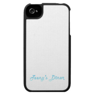 Teeny s Diner Logo iPhone 4 Cases