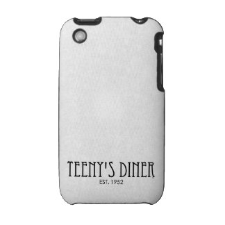 Teeny s Diner iPhone 3 Cover