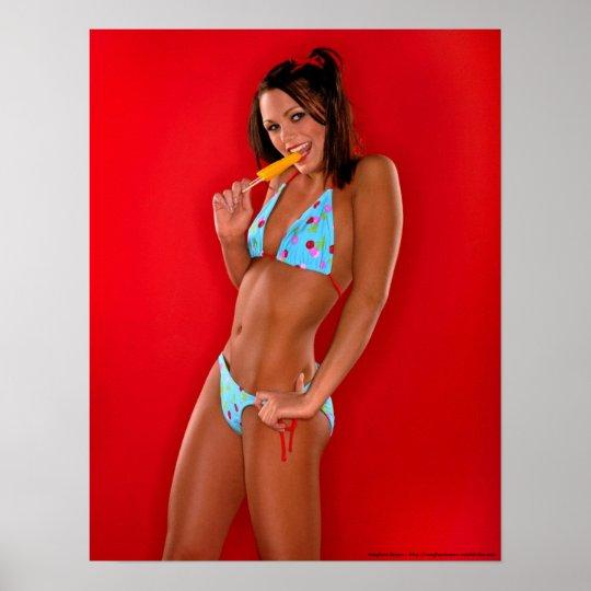 Teeny Weenie Little Polka Dot Bikini Poster
