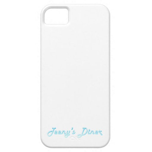 Teeny's Diner Logo iPhone 5 Covers