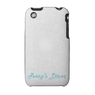 Teeny's Diner Logo iPhone 3 Cover
