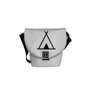 Teepee tent messenger bags