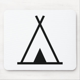 Teepee tent mousepads
