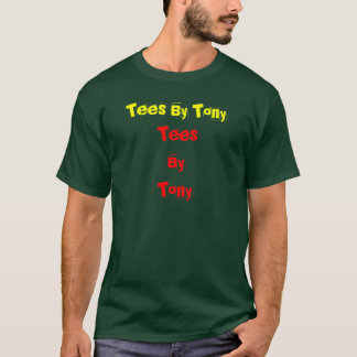 TeesByTony, Tees By Tony