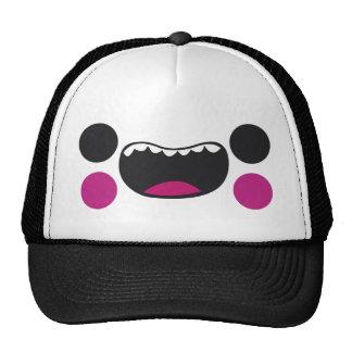 Teeth Face Mesh Hat