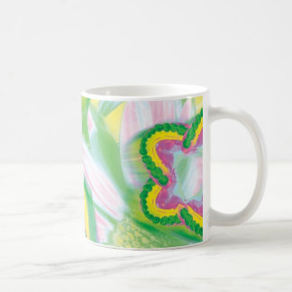 Teeth Model Flower Design Dentist Orthodontist Mug