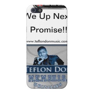 Teflon Don-M.E.M.P.H.I.S. Grizzlies CUSTOM PHONE iPhone 5 Cases