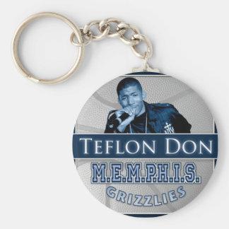 Teflon Don-M E M P H I S Grizzlies keychain