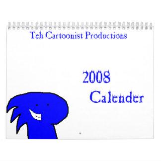 Teh Cartoonist Productions Calender 2008 Calendar