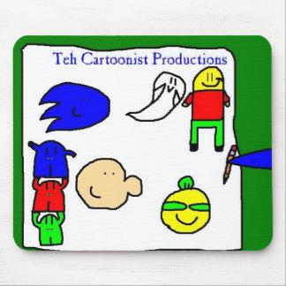 Teh Cartoonist Productions Mousepad