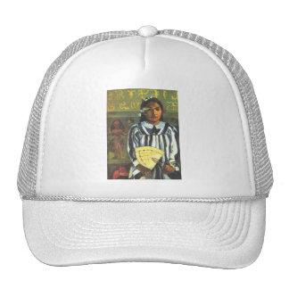 'Tehamana Has Many Ancestors' - Gauguin Hat