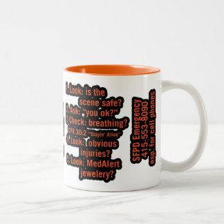 Tehs Two-Tone Coffee Mug