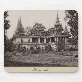 Teik Kyaung monastery, isle of Ka Toe Mouse Mat