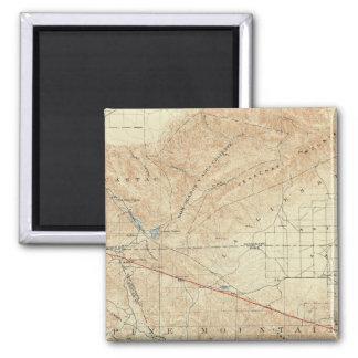 Tejon quadrangle showing San Andreas Rift Magnet