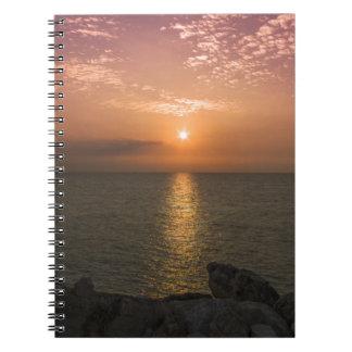 Tel Aviv coast Spiral Notebooks