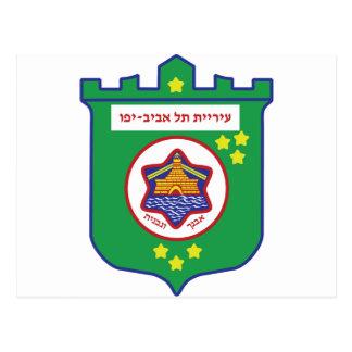 Tel Aviv Seal - Symbol - Logo Postcard