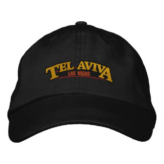 Tel Aviva Las Vegas Embroidered Hat