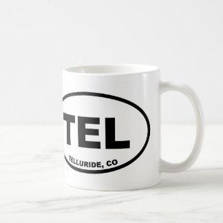 TEL Telluride Colorado Coffee Mug