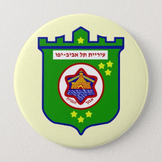 TelAviv, Israel 10 Cm Round Badge