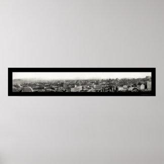 Telegraph Hill, San Francisco, CA Photo 1908 Poster
