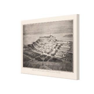 Telegraph Hill suggested architectural treatment Canvas Print