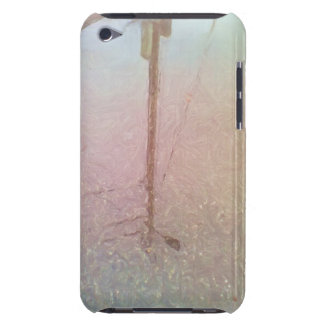 telegraph pole reflection iPod touch case