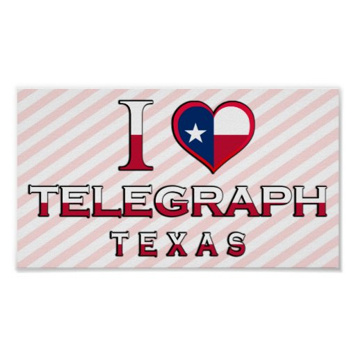 Telegraph, Texas Posters