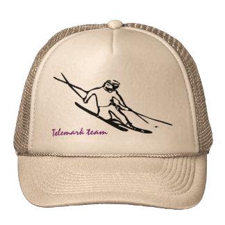 Telemark skier Cap