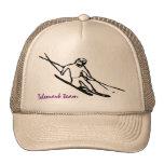 Telemark skier Cap Mesh Hat