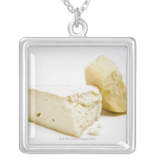 teleme and camody gourmet cheeses silver plated necklace