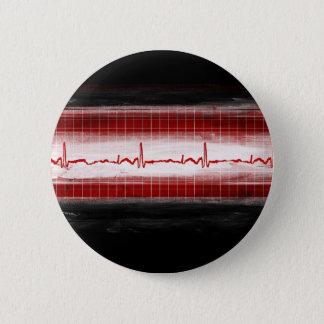 Telemetry 6 Cm Round Badge