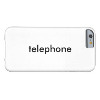 telephone barely there iPhone 6 case